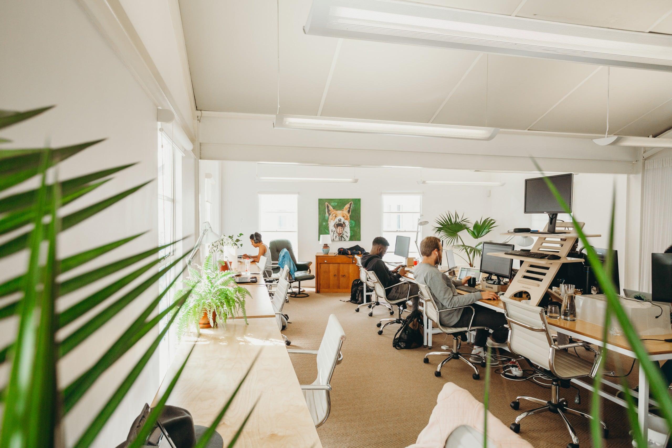 Dedicated Desk Space